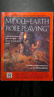 Vintage Middle-Earth Role Playing I.C.E Tolkien 1984 MERP