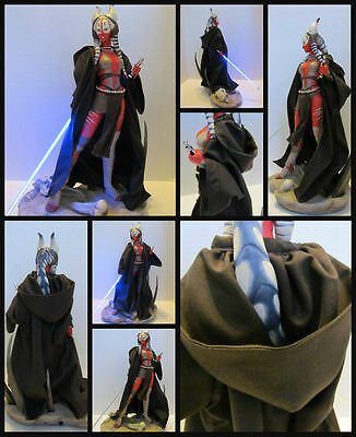 Star Wars Custom  Robe  for Sideshow Shaak Ti Aayla Secura Premium Format Statue
