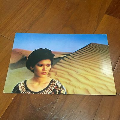 Rare Old Our Girl Serene Singapore Airlines Postcard Singapore