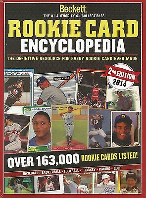 2014 Beckett Multi-Sport Rookie Card Encyclopedia Guide 2nd Edition