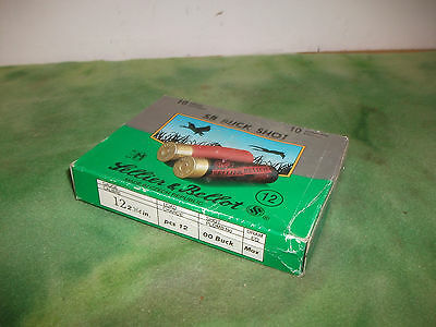 Lellier & Bellot   12 Ga  Shotgun Shells   Box  ( Empty )