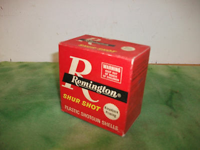 Remington Shur Shot   Kleanbore Priming  12 Ga   Shotgun Shells   Box  ( Empty )