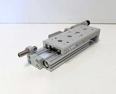 MXS Guided Cylinder Shock Absorb SMC MXS16L-75 Slide Table