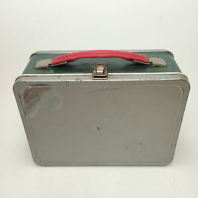 The American Thermos Bottle Co Lunch Box Green Gray