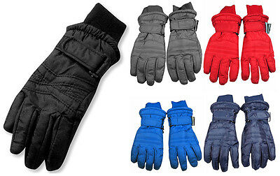 Winter Warm Up Boys Girls Unisex Fits Ages 7-14 Thinsulate Waterproof Gloves