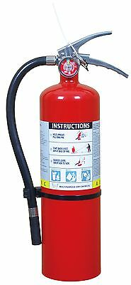Victory 5 lb ABC Fire Extinguisher 3-A, 30-B: C SS Handle w/ Wall Hook/PD5LB