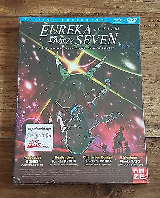 EUREKA SEVEN LE FILM Edition Collector Combo Collector Blu-Ray Dvd Neuf Blister