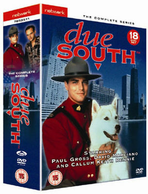 DUE SOUTH the complete series 1, 2 & 3. 18 disc box set. New sealed DVD.