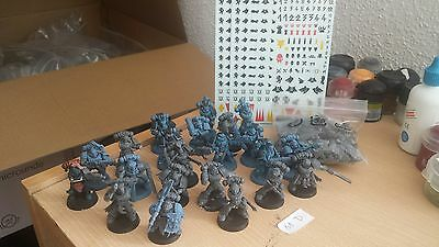 22X Pack Lobos Espaciales Space Wolves Warhammer 40K Con Calcomanias