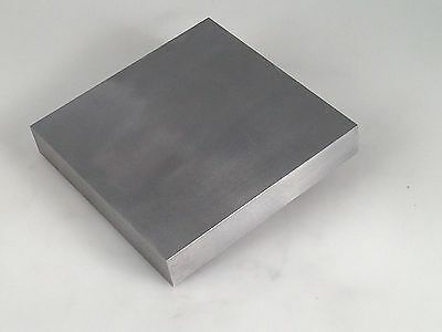 "STEEL BENCH BLOCK JEWELERS STEEL ANVIL BLOCK METAL WORKING AREA 4"" x 4"" x 3/4"""