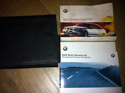 Bmw 3 Series Coupe Owners  Manual / Handbook / Wallet Set 1998 -2006 Type E46