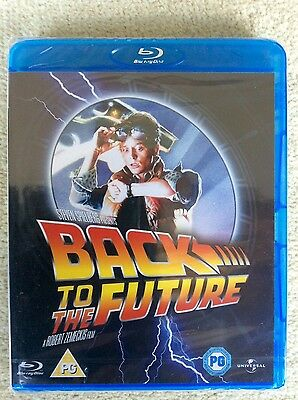 Back To The Future (Blu-ray, 2011) BRAND NEW, FACTORY SEALED