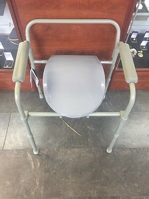 Drive Folding Bedside Commode Medical Chair Toilet
