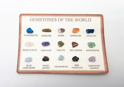 15 Gemstones Gemstone Gems Collection Semi Precious Stones