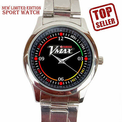 Special Edition 2017 Yamaha VMAX Sport Heritage Motorcycle logo watch##$