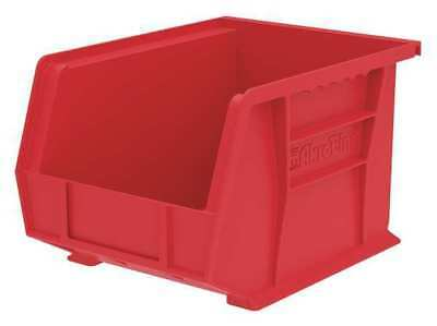 "Red Hang and Stack Bin, 10-3/4""L x 8-1/4""W x 7""H AKRO-MILS 30239RED"