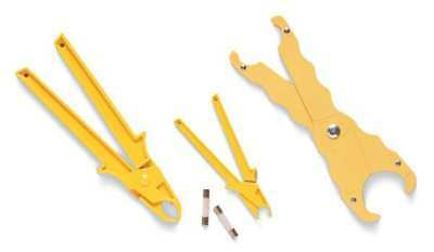 IDEAL 34-016 Fuse Puller, Large, 7-1/4 In L, Yellow