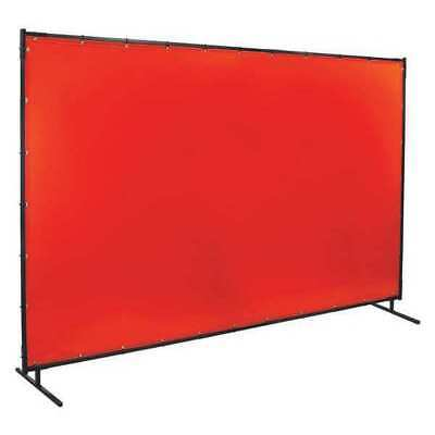 Welding Screen,10 ft. W,6 ft.,Orange STEINER 538-6X10