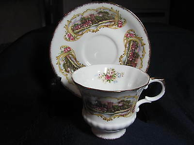 Paragon Bone China  Cup And Saucer  England  Chippendale Pattern