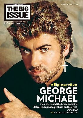 Big Issue Magazine January 2017 George Michael Special Tribute Cover Issue