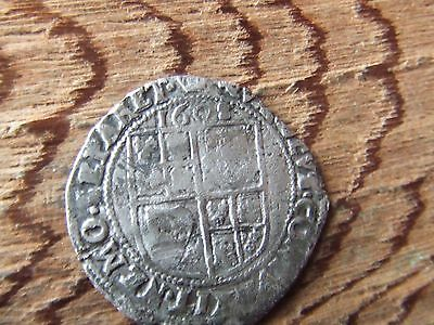JAMES 1st   1603- 1625.  SILVER SIXPENCE.   1608.  SCARCE.  NICE CONDITION.