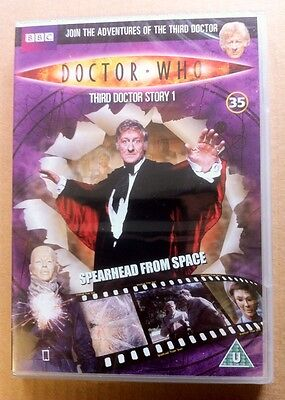 Doctor Who. Spearhead From Space. Starring Jon Pertwee. DVD. BBC Television.