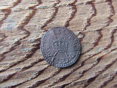 CHARLES 1st   1625-1649.  COPPER FARTHING.    NICE CONDITION.