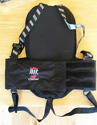 Rukka Air Power breathable strap-on back spine protector size M with Outlast