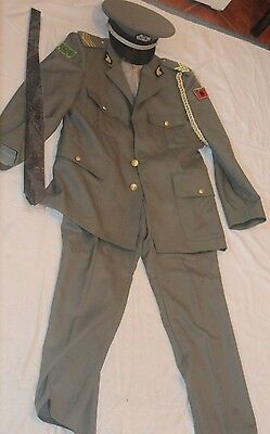 Albania Military Uniform New With Its Hat Shirt And Jacket And All Badges Perfec