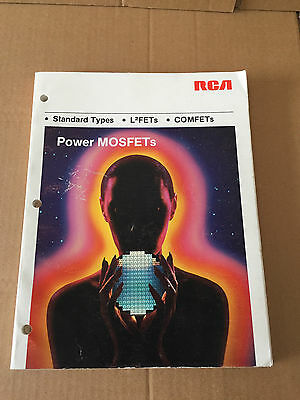 Vintage Book - RCA Power MOFSET Products, 1984