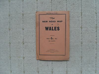 1930's / 40's Road Map - Wales