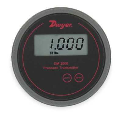 DWYER INSTRUMENTS DM-2013-LCD Pressure Transmitter, LCD