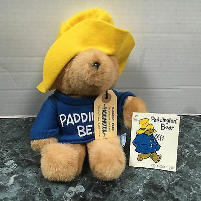 "Paddington Bear Darkest Peru To London 10"" Plush Doll W/ Tags Free S/h"