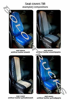 Truck seat cover SCANIA, MAN, MERCEDES, IVECO, VOLVO, DAF, RENAULT