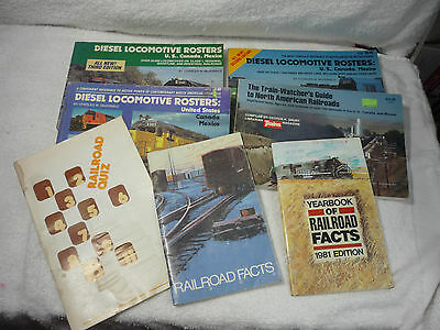 Lot 7 Train Books Watchers Guide Diesel Rosters 3Rd 2Nd Reference Series Softbac
