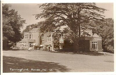 Lovely Scarce Old Postcard - Farringford House Freshwater - Isle Of Wight C.1939