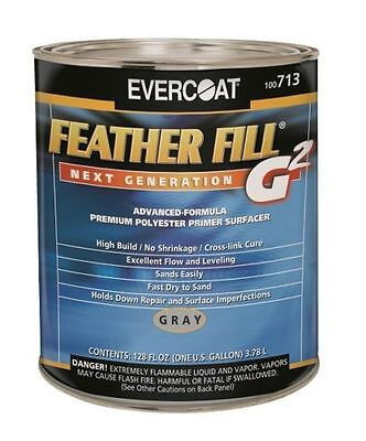 Evercoat 713 Feather Fill G2 Polyester Primer Surfacer (Gray Gallon)