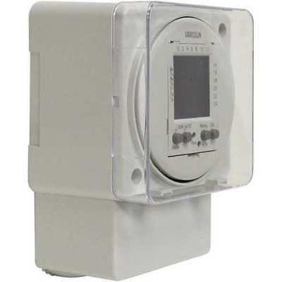 INTERMATIC FM1D50A-12 Electronic Timer, 24 hr/7 Days, SPDT-NO/NC