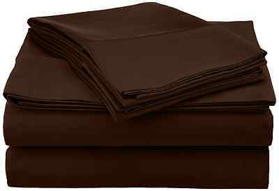 Pointehaven 500-Thread Count 100-Percent Egyptian Cotton Deep Fitted Queen Sheet