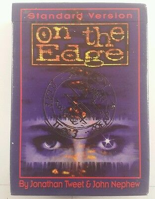 on the edge ccg starter deck - on the edge trading cards
