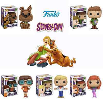 Pop!: Scooby Doo Fred, Daphne, Velma, Shaggy, and Scooby Vinyl Figures! Set of 5