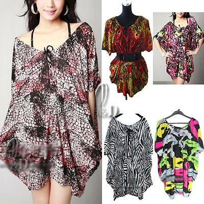 WHOLESALE BULK LOT OF 10 MIXED STYLE OverSize Kaftan Long Top Beack Cover dr136