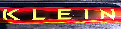 Klein Salesman Paint Sample Tube near mint, bright and vibrant colors Made in US