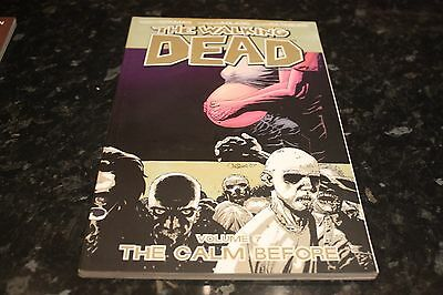 the walking dead volume 7 the calm before graphic novel collects issues 37-42