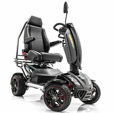 VITA MONSTER S12X Electric Mobility Scooter All Terrain Fast PMV Rambo Scooter