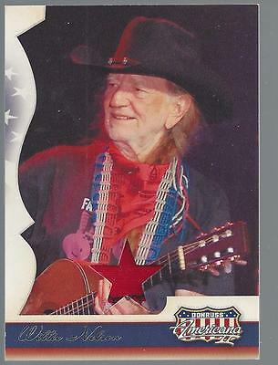 2008 Donruss Americana II Willie Nelson Costume / Relic Card