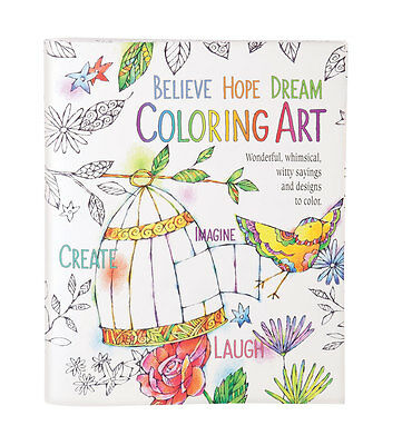 Believe, Hope, Dream Coloring Book
