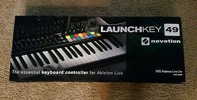 Novation Launchkey 49-Note USB Keyboard Controller for Ableton Live