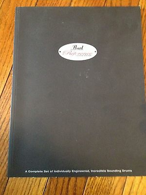 Vintage Musical Instrument Catalog #10602 -  Pearl Drums - Reference Series