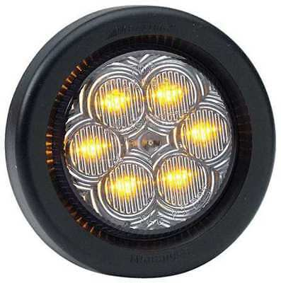 Clearance Light,LED,Amber,Grommet,2 Dia MAXXIMA M34260YCL